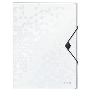 Boîte à documents Leitz 4629 WOW, PP, dos 3 cm, blanc, la boîte