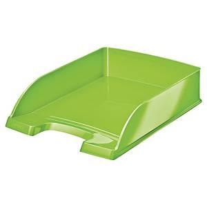 Vaschetta portacorrispondenza Leitz Wow polistirene verde lime