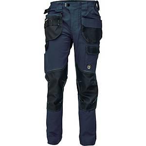 Pracovné nohavice CERVA DAYBORO, veľkosť 52, tmavomodré