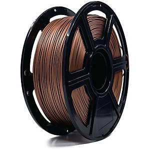 Filament til 3D-print Gearlab GLB251052, metal-PLA, 1,75 mm, kobber