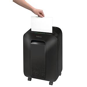 Destructora Fellowes LX201 microcorte - DIN P5 - negro