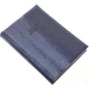 REALSYSTEM DAILY DIARY MUSTANG A5 BLUE