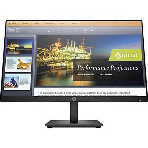 HP ProDisplay P224 LCD monitor, Full HD, fényvisszaverő, 21,5