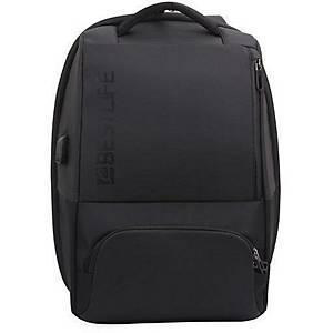 Bestlife Neoton 15,6  laptophátizsák, fekete