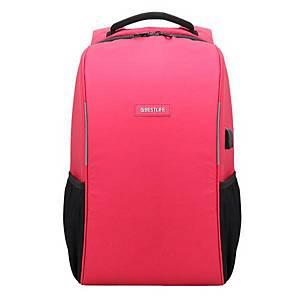Bestlife Travel Safe 15,6  laptophátizsák, piros