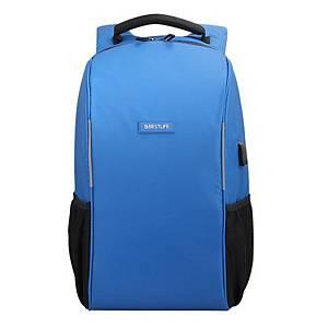 Batoh na notebook Bestlife Travel Safe 15,6 , modrý