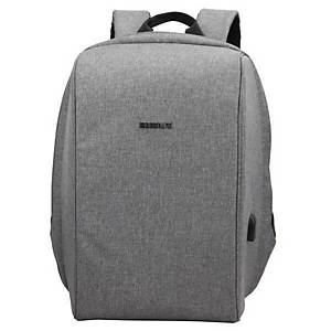 Bestlife Travel Safe Laptoprucksack 15,6  grau