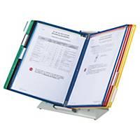 Protège-documents pupitre Tarifold T-Display - 10 pochettes assorties