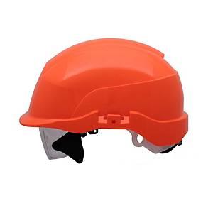 Casque de sécurité Spectrum S20RF, ABS, orange