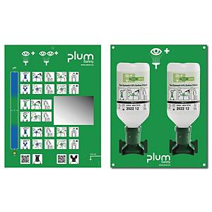 PLUM 4694 EYE WASH STATION BOX 2X500ML