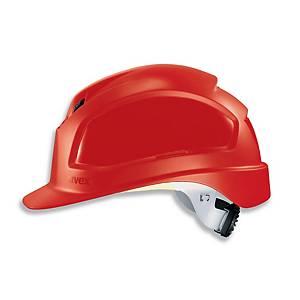 Casque de sécurité Uvex Pheos B-WR, polyéthylène, rouge