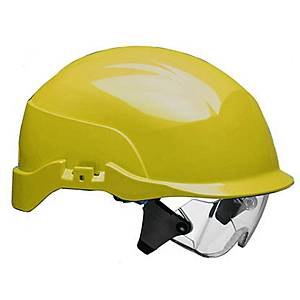 Casque de sécurité Spectrum S20RF, ABS, jaune