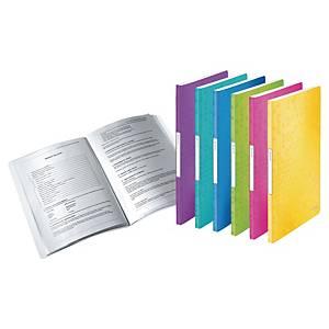 Leitz WOW Display Book 20-Pocket Asst - Pack Of 6