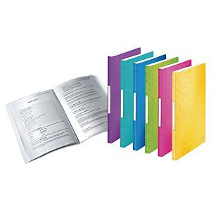 Leitz WOW iratvédő mappa, 40 PP tasak, vegyes színek