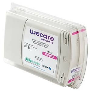 WECARE tintasugaras nyomtató patron HP 80 (C4874A) magenta