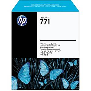 HP 771 DesignJet Maintenance Cartridge (CH644A)