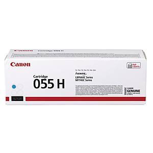 Toner Canon 3019C002  055 H, Reichweite: 5.900 Seiten, cyan