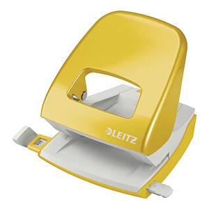 Leitz WOW Hole Punch 2-Hole Yellow
