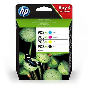 Tintenpatrone HP No. 903XL 3HZ51AE, 825 Seiten, farbig