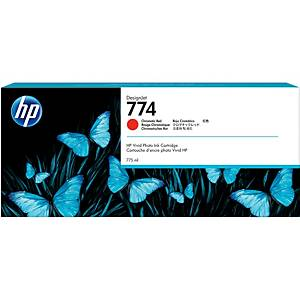 HP 774 Designjet Ink Cartridge Red (P2W02A)