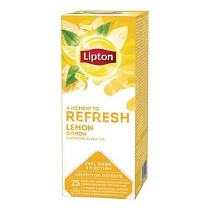 BX25 LIPTON TEA BAGS LEMON
