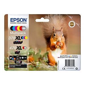 Epson 478XL Multi Ink Cartridge B/C/M/Y/R/Gy