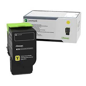 Lexmark 78C0X40 Laser Toner Cartridge Yellow