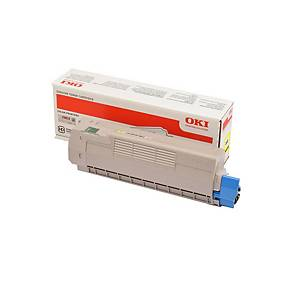 Oki 46507505 Laser Toner Cartridge Yellow