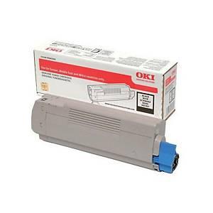 Oki 46507508 Laser Toner Cartridge Black