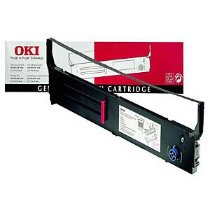 Oki 40629303 Printer Ribbon Black