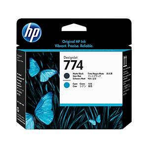HP 774 Designjet Printhead Multi Bk/Cyn (P2W01A)