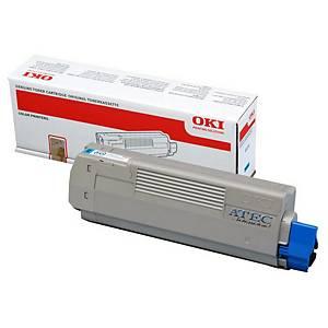Oki 46507507 Laser Toner Cartridge Cyan