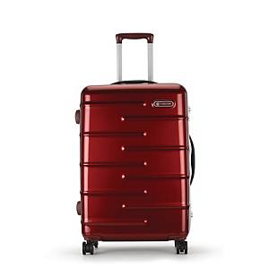 CARLTON KNOX SUITCASE SMALL RED