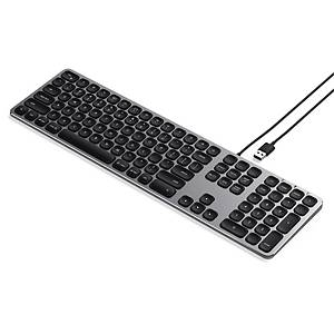 SATECHI KEYBOARD USB CONNECT SPACE GREY