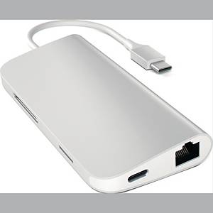 SATECHI USB-C MULTI ADAPTER 4K SILVER