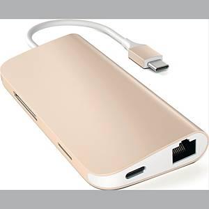 SATECHI USB-C MULTI ADAPTER 4K GOLD
