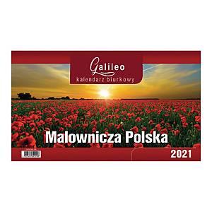Kalendarz stojący CRUX Galileo, Malownicza Polska