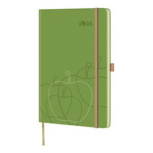 Kalendarz Appeel 13 cm x 21 cm, tygodniowy, zielony