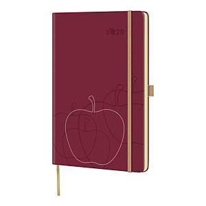 APPEEL BIG APPLE DIARY 130X210MM RED