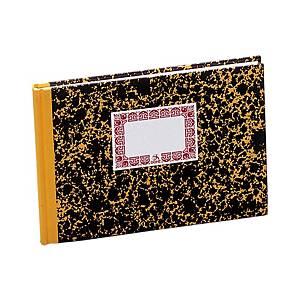 Cuaderno cartoné Dohe Cuenta corriente - 4º apaisado - 100 hojas - amarillo