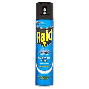 Raid Rapid Fly & Wasp Killer 300ml