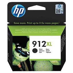 HP 912XL High Yield Black Original Ink Cartridge (3YL84AE)