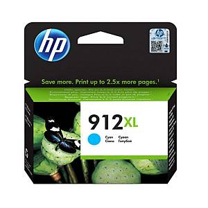 HP 912XL InkJet Cartridge Cyan