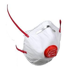 Caixa de 10 máscaras descartáveis Irudek V-220 - FFP2 SLV