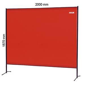 Cortina soldadura Faru C237 - Vermelho