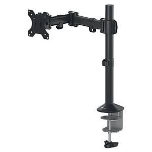 Single Monitor Arm Fellowes Reflex, Metall, schwarz