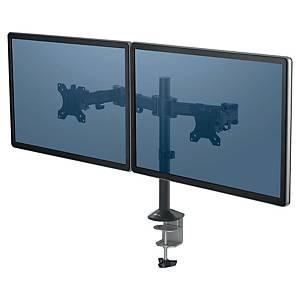 Dual Monitor Arme Fellowes Reflex, Metall, schwarz