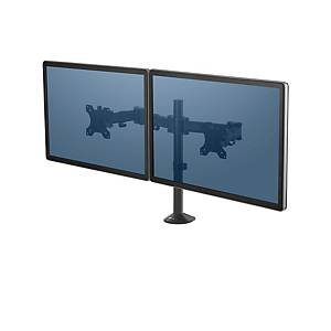 Fellowes 8502601 Reflex Series Dual Monitor Arm