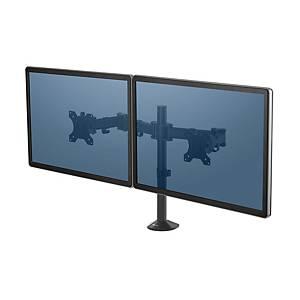 Braccio doppio Reflex Fellowes supporto monitor