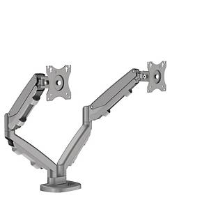 Fellowes 9683301 Eppa Dual Monitor Arm Silver